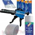 Adezivi , produse pentru reparare bari protectie si alte materiale(sticla, lemn, aluminiu,etc) | Spray, sapun, vaselina, mastic,adezivi,  produse speciale
