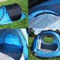 Cort 2 persoane albastru (43236) | Corturi mici, mari, XXL, gratare (grill), accesorii camping | Corturi, piscine, barci, trambuline,