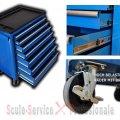 DULAP METALIC 7 sertare 3007b(830) | Dulap metalic 7 - 15 sertare | Dulap, carucior metalic, bancuri