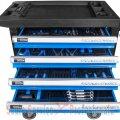 Dulap metalic echipat Premium 7 sertare 250 piese (GU40877) | Dulap metalic 7 - 15 sertare | Dulap, carucior metalic, bancuri