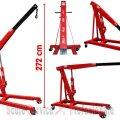 MACARA GIRAFA 3 TONE H413 (24312) | Macara girafa hidraulica 2 t - 3 t | Macara girafa hidraulica 1t , 2t - 3t