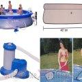 Piscina XXL 457x107 cm (17602) | Piscine copii, adulti | Corturi, piscine, barci si ambarcatiuni, trambuline,
