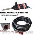 "PISTOL PNEUMATIC 1"" STAHLRHEIN - 5000 Nm + FURTUN AER 20 BAR (13X22 mm) 15M | Chei pneumatice, pistoale 1"" si furtune | Pistoale pneumatice 1"""