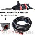 "PISTOL PNEUMATIC 1"" STAHLRHEIN - 6200 Nm + FURTUN AER 20 BAR (13X22 mm) 15M | Chei pneumatice, pistoale 1"" si furtune | Pistoale pneumatice 1"""