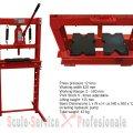 PRESA 12 TONE cu cric hidraulic scos rulmentii D24410 sh 612 (L0129) | Presa 12Tone, 20 Tone cu cric | Prese forta 20 t