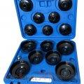 Set capace filtru ulei 15 buc /Tr. (S611) | cheie filtru ulei | Chei filtru ulei