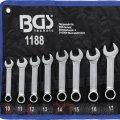 Set chei combinate, scurte 10 - 19 mm (1188) | Truse chei combinate 11 buc. | Truse chei combinate